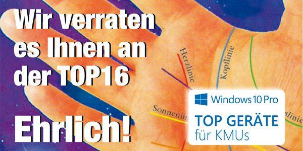 TOP16 Einladung / Microsoft Windows10 Pro