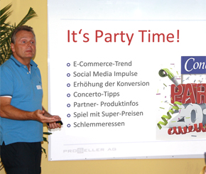 "Concerto Informationsanlass vom 25. Juni 2013 ""It's Party-Time!"""