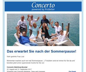 Newsletter Layout Beispiele