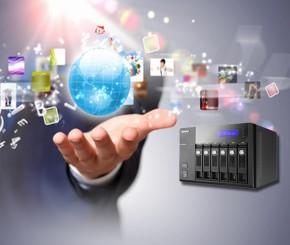 Turbo NAS Netzwerkspeicher mit perfekten Server- und Multimediafunktionen