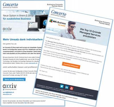 Concerto Exklusiv-Newsletter