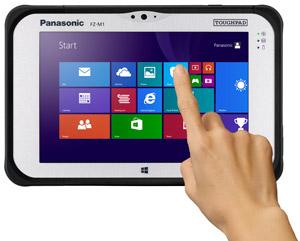 Panasonic Toughpad FZ-M1 Details