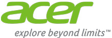 Logo Acer explore beyond limits