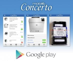 Concerto Mobile App Titelbild