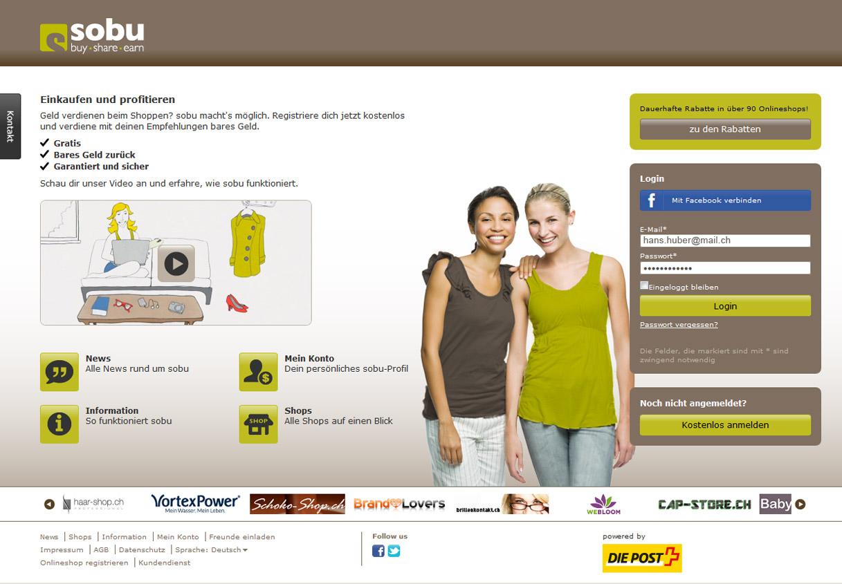 Zugang sobu-Plattform