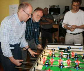 Concerto WebShop-Booster-Event vom 18. August 2015 / Tischfussball-Turnier