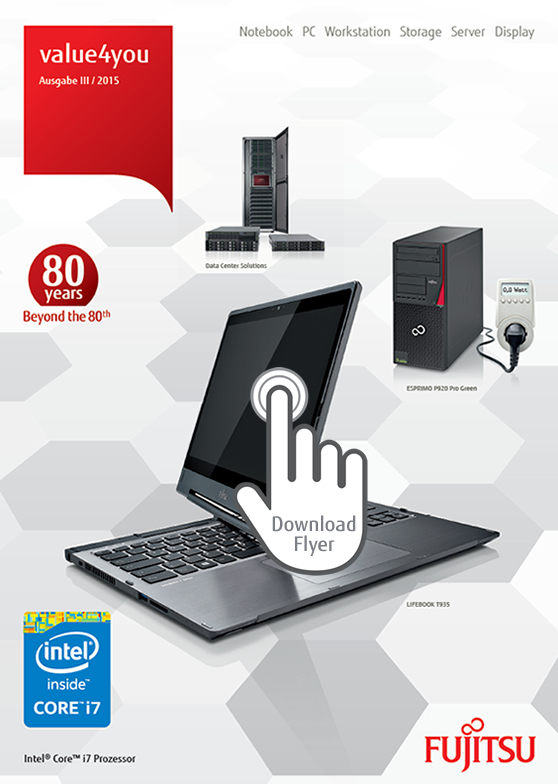 Fujitsu value4you Promotions 2015