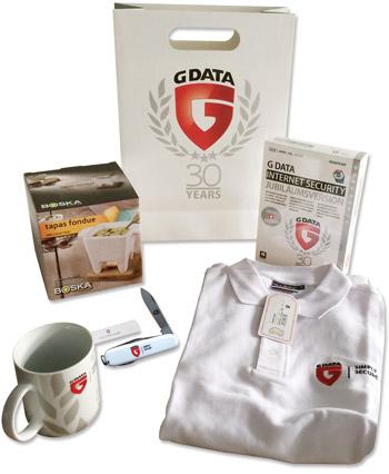 Weihnachtsjagd 2015 / G Data Geschenks-Package