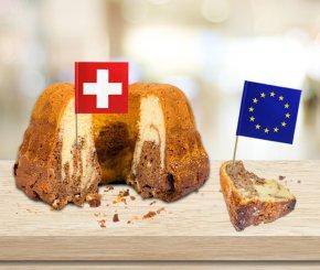 E-Commerce-Marktkuchen Schweizer/Ausland