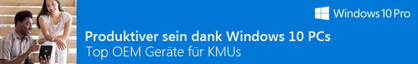 Microsoft Windows10 Pro TOP-Geräte