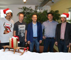 Weihnachtsjagd 2016 / Gewinnergruppe