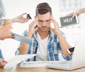 Mehr Belastung in der IT-Branche