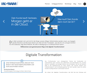 Ingram Micro mit Digitalisierungs-Infoportal