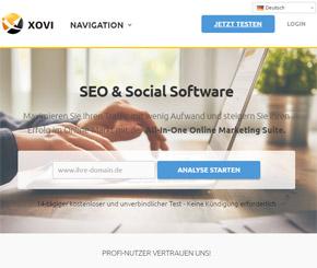 SEO-Tools: Die Xovi Suite