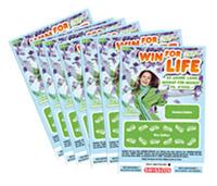 Logojagd Win for Life Los / Preis 4-10