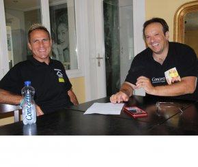 Michael Schäfer und Emmanuel Zürcher im Interview vom 20. Juni 2017