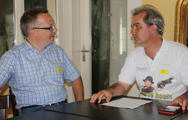 Ulrich Benen und Serge Tischler im Interview vom 20. Juni 2017
