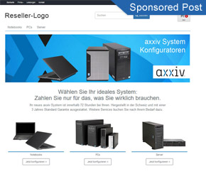 Der axxiv Konfigurator als Chance für Ihren Shop