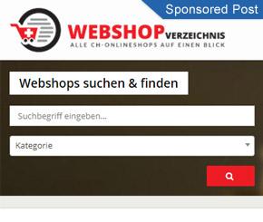 Alle Webshops der Schweiz auf einen Blick