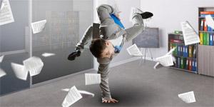 Digitale Transformation / Über Schatten springen - © Sergey Nivens / Fotolia.com