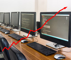 Absatz von Workstations steigt