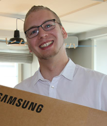 Oster-Jagd 2018 / Gewinner 2 Samsung