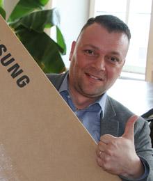 Oster-Jagd 2018 / Gewinner 3 Samsung