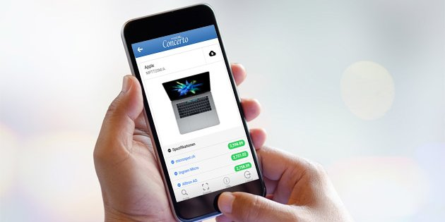 Concerto Mobile App jetzt auch fürs iPhone