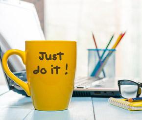 Effizient arbeiten? Just do it!