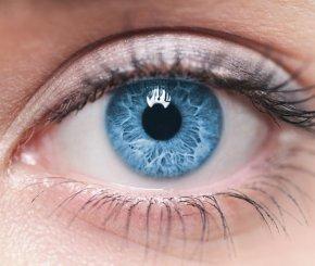 Gesunde Augen mit weniger blauem Licht