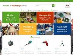 Garten- & Werkzeuge-Webshop