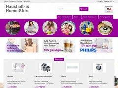 Haushalt- & Home-Webshop