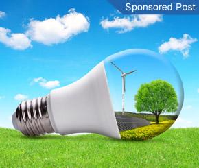 Der Monitor, der Energie spart