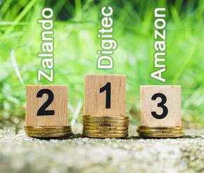 Digitec, Zalando und Amazon dominieren den Markt