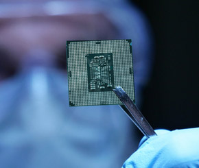 Knappe Prozessoren drücken Notebook-Absatz