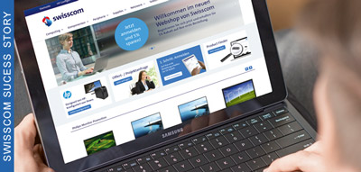 Success Story Swisscom Webshop Referenz