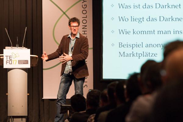 Das Technology Forum ist zurück - Referent Otto Hostettler