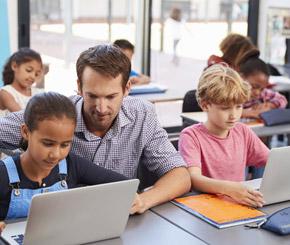 Digitalisierung an Schulen kommt nur langsam