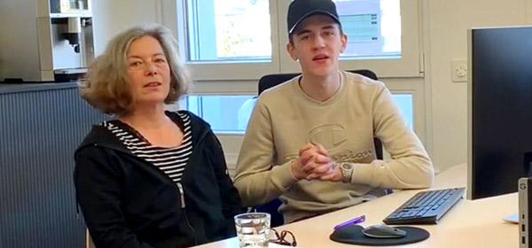 Webshop tanto.ch / Mitarbeiter im Gespräch
