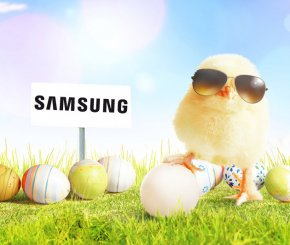Oster-Logojagd 2019 mit Samsung