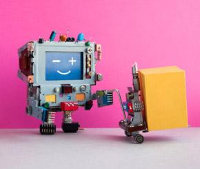 Roboter-Lagerist ersetzt den Menschen