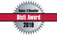 Swiss IT Reseller Disti Award 2019
