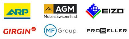 Bei B2B-Umfrage mitmachen und gewinnen / Logos Sponsoren