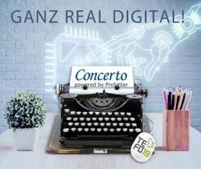 Concerto am TEFO'19: Ganz real digital