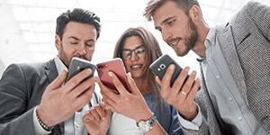 Social Media bietet Chancen für Firmen / IB