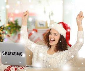 Weihnachten 19 Logojagd Samsung