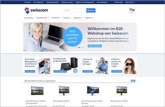 ProSeller E-Commerce-Lösung / Referenz Swisscom