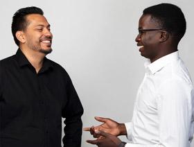 Damit die Customer Journey ins Ziel führt / Bryan Wirth und Abdou Thiam