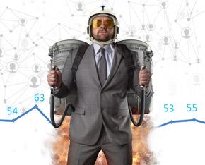 ICT-Index: Erfolg dank digitaler Beschleunigung