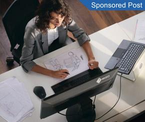 Flexibel arbeiten im Büro und Homeoffice